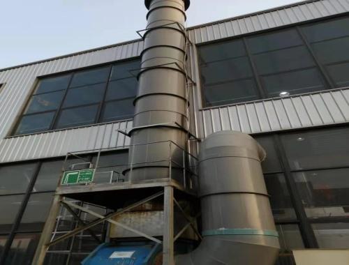 江苏苏州一工厂车间排风管道12博手机投注网址案例